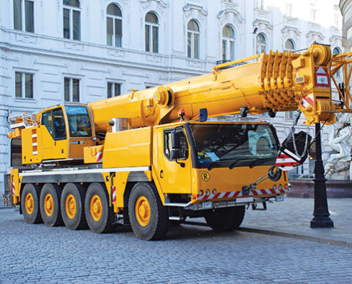 Mobile Crane Powershift Transmissions